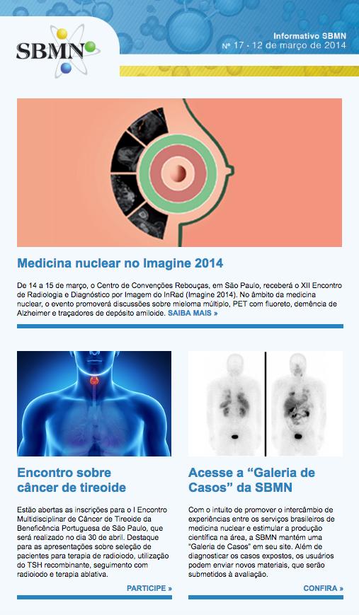 NEWSLETTER 17 – MARÇO DE 2014