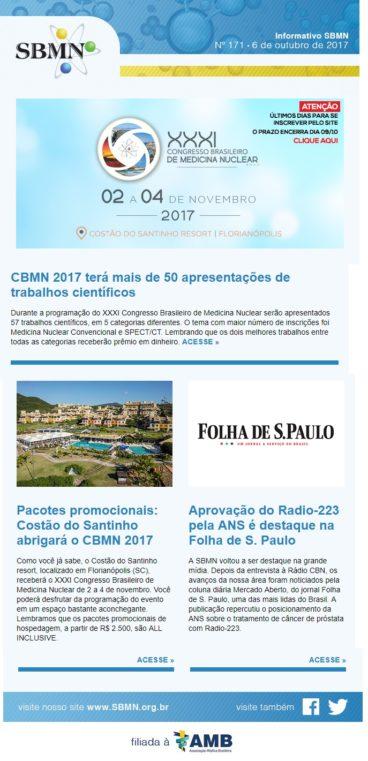 NEWS 171 – OUTUBRO DE 2017