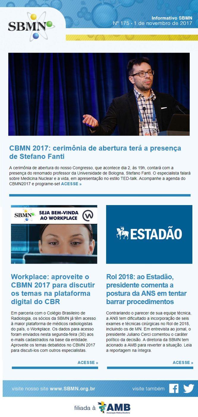 NEWS 175 – NOVEMBRO DE 2017