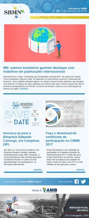 NEWS 188 – FEVEREIRO DE 2018
