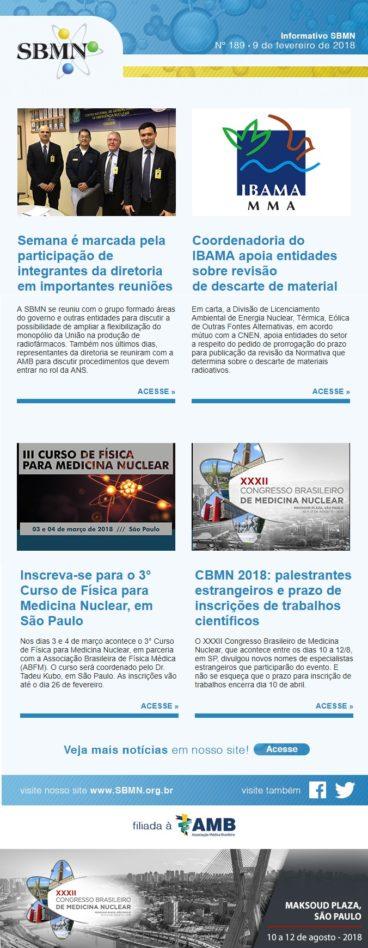 NEWS 189 – FEVEREIRO DE 2018