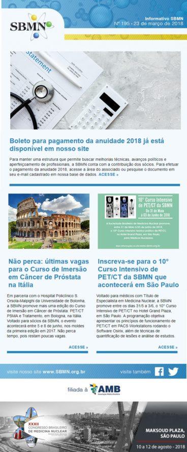 NEWS 195 – MARÇO DE 2018