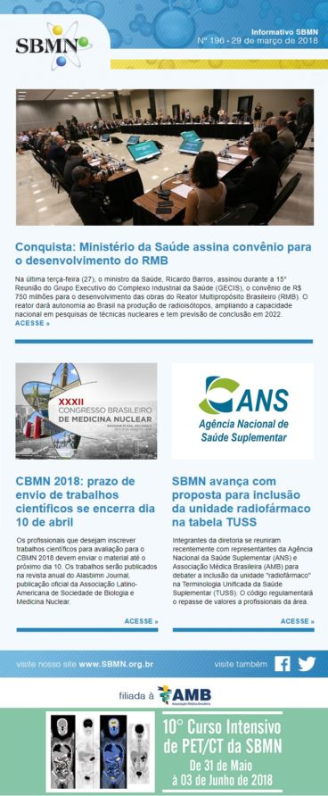 NEWS 196 – MARÇO DE 2018