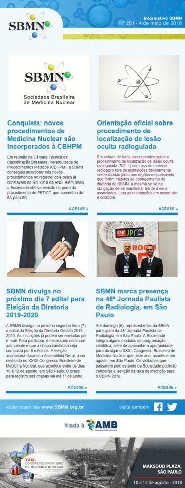 NEWS 201 – MAIO DE 2018