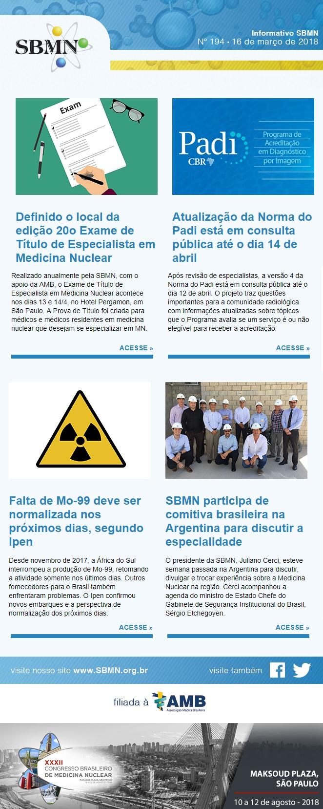 NEWS 194 – MARÇO DE 2018