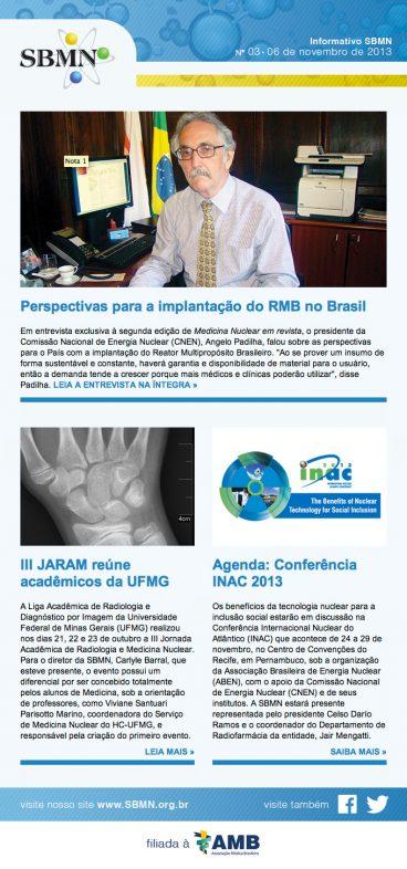 News 3 – Outubro 2013