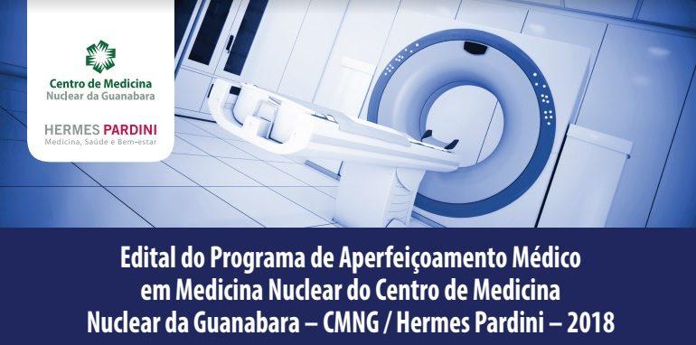 Estão abertas as inscrições para o Programa de Aperfeiçoamento do Centro de Medicina Nuclear da Guanabara