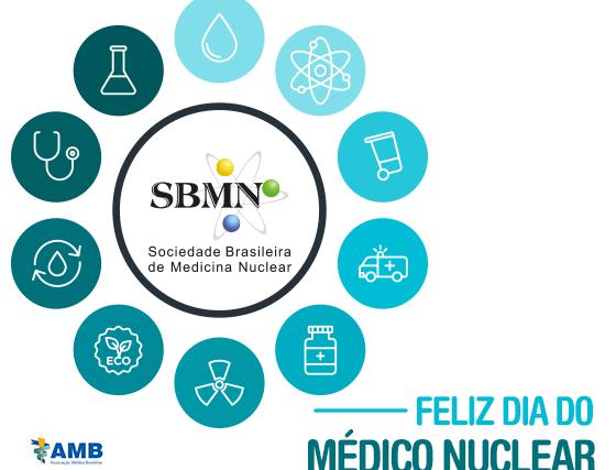 No dia do médico nuclear, SBMN comemora 57 anos