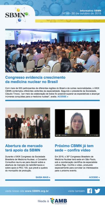 Newsletter 89 – outubro de 2015