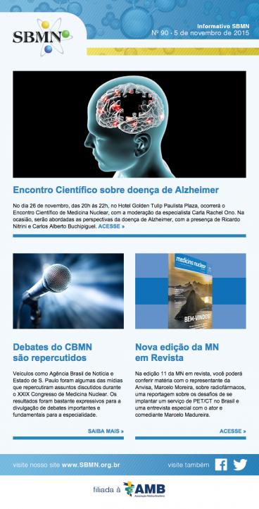 Newsletter 90 – novembro de 2015