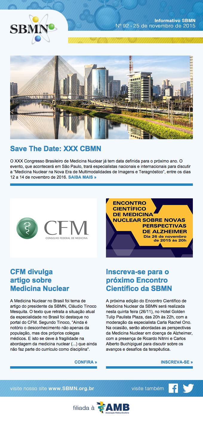 Newsletter 92 – novembro de 2015