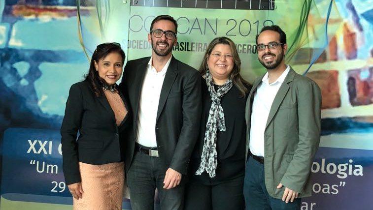 Diretoria da SBMN participa do XXI Congresso Brasileiro de Cancerologia em Belém do Pará
