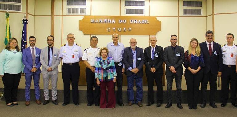 Diretoria da SBMN e Drauzio Varella visitam o Centro Experimental Aramar