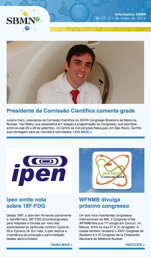 NEWSLETTER 27 – MAIO DE 2014