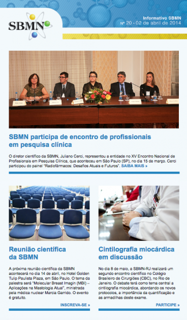 NEWSLETTER 20 – ABRIL DE 2014