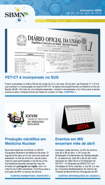 NEWSLETTER 23 – ABRIL DE 2014