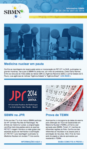 NEWSLETTER 24 – ABRIL DE 2014