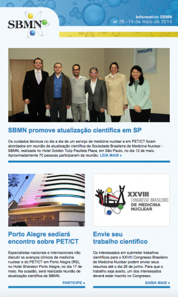 NEWSLETTER 26 – MAIO DE 2014