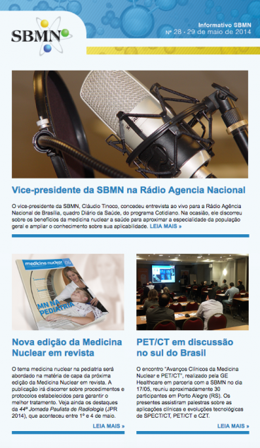 NEWSLETTER 28 – MAIO DE 2014