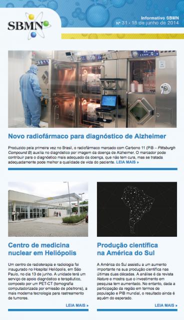 NEWSLETTER 31 – JUNHO DE 2014