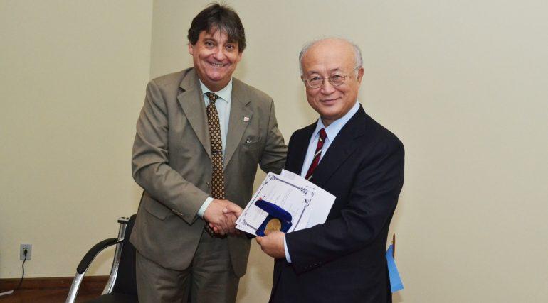 CNEN concede prêmio Octacílio Cunha à Agência Internacional de Energia Atômica