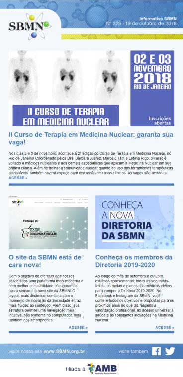 NEWS 225 – OUTUBRO 2018