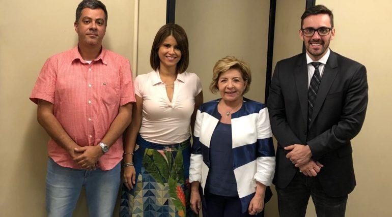 Diretoria se reúne com representantes da CNEN, no Rio de Janeiro