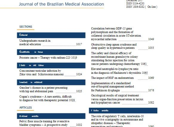 Diretriz de tratamento de câncer de próstata com Radio-223 é publicada na revista da AMB