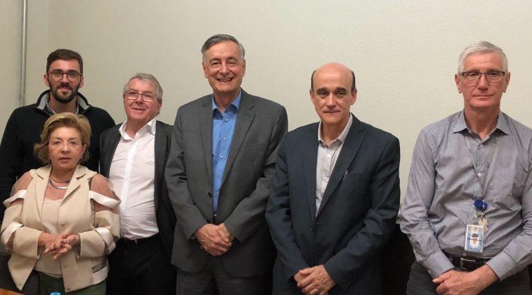 Presidente do CNEN e superintendente do IPEN participam de reunião na SBMN a fim de discutir medidas para otimizar a atuação da medicina nuclear no país