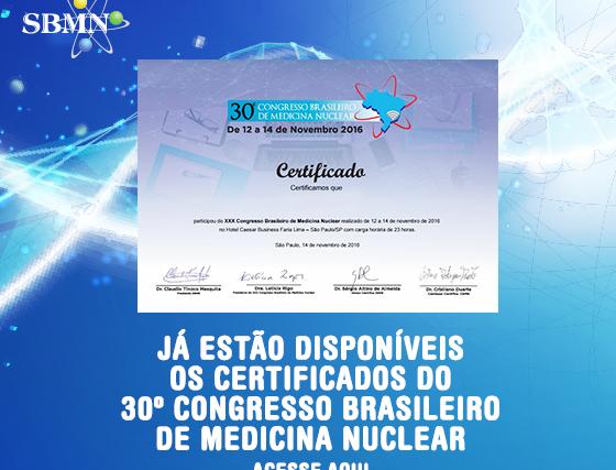 Confira como obter o certificado de participação no CBMN 2016
