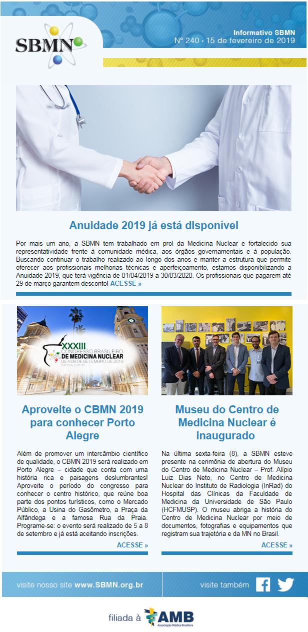 NEWS 240 – FEVEREIRO 2019