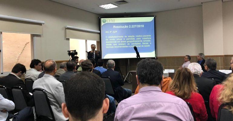 SBMN participa de reunião na AMB para discutir telemedicina