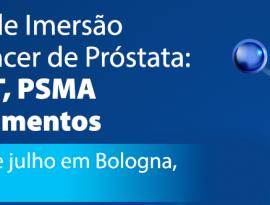 Curso de Imersão em Câncer de Próstata será realizado na Itália em julho
