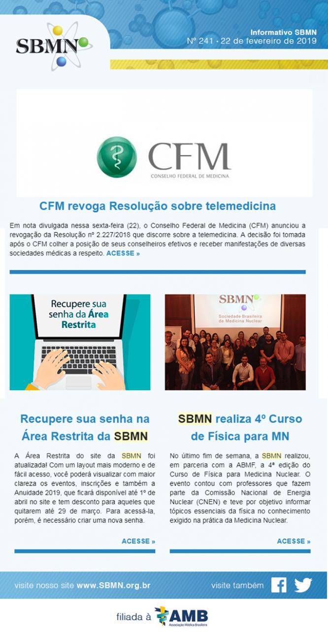 NEWS 241 – FEVEREIRO 2019