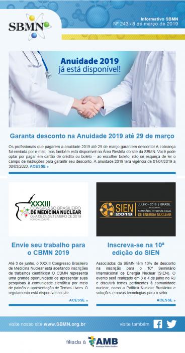 NEWS 243 – MARÇO 2019