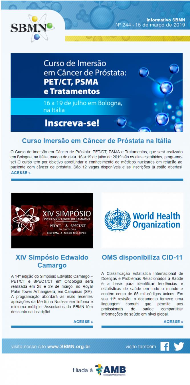 NEWS 244 – MARÇO 2019