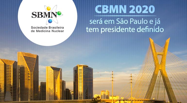 CBMN 2020 será em São Paulo e já tem presidente definido