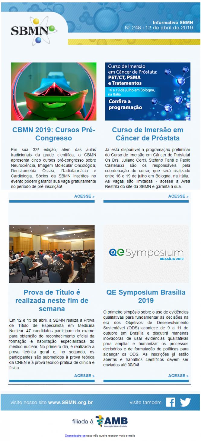 NEWS 248 – ABRIL 2019