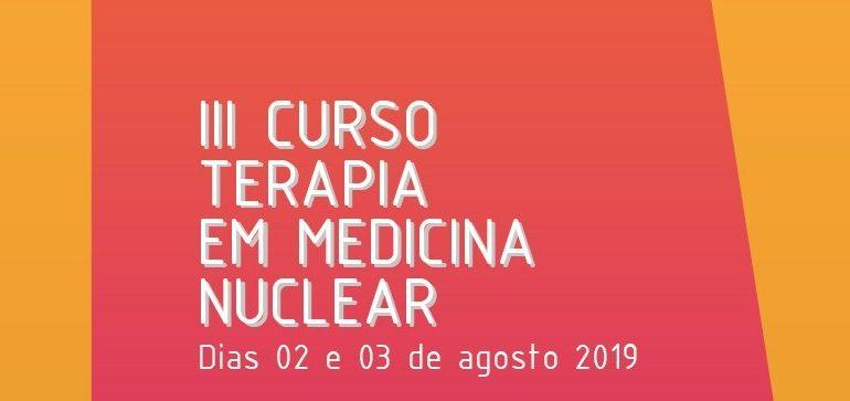 29 de julho: último dia de inscrições para o Curso Terapia em Medicina Nuclear