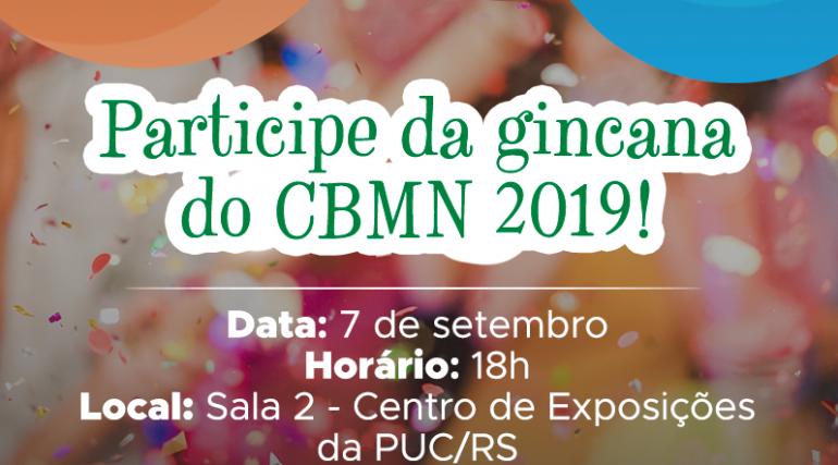 Participe da gincana do CBMN 2019!