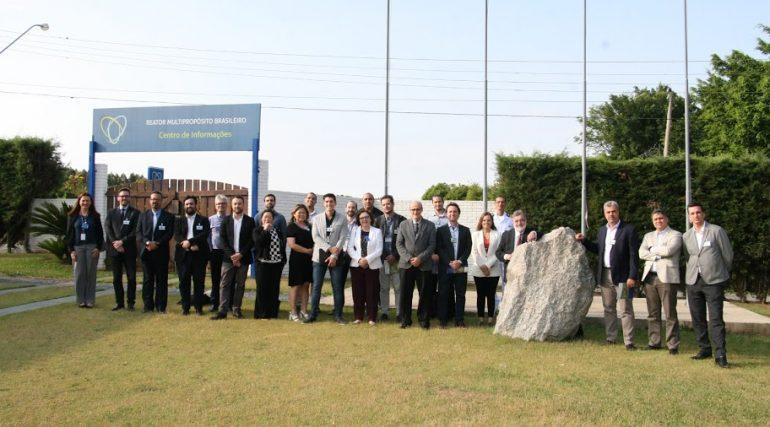 Diretoria e fornecedores de radiofármacos visitam Aramar e discutem fornecimento