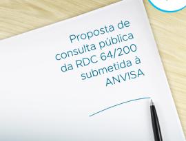 SBMN envia para a ANVISA proposta de consulta pública para revisão da RDC nº 64